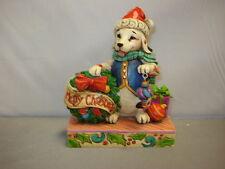 Jim Shore Dog Jolly Old Santa Paws 4034391
