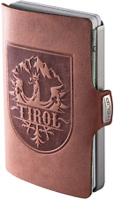 I-CLIP ® Wallet Tirol Oak, Metallic-Grey