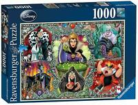 Ravensburger Disney Wicked Women 1000pc Jigsaw Puzzle - Collectible