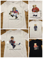 POLO BEAR BY RALPH LAUREN T SHIRT BOYS KIDS BIG PONY tee multi size