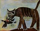 Print -    Cat Catching a Bird, 1939 by Picasso