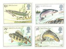 Freshwater Fish-Fishing set mnh Great Britain(1983)