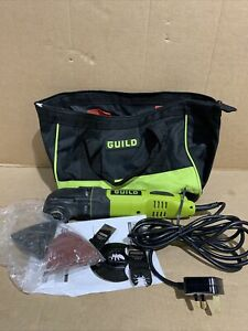 Guild 300w Oscillating Multitool - Fully Working With Carry Bag- Free Uk Postage