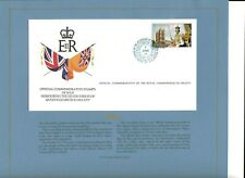 NIEU 1977 QE2 SILVER JUBILEE SCARCE ROYAL SOCIETY FIRST DAY COVER