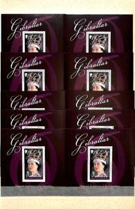 [OPG220] Gibraltar Royalty 50x good sheet very fine MNH