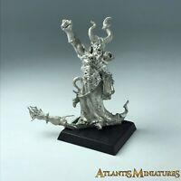 Metal Chaos Sorcerer - Warhammer Age of Sigmar XX1379