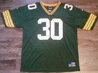 Vintage Adidas Green Bay Packers NFL Football #30 Ahman Green Jersey Mens Sz XL