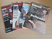 4x Vintage Kerrang Magazine March 3, 10, 24 & April 7 2001 Rock Music 2000s