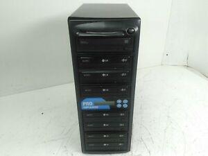 Pro Duplicator 1:7 8 Bay CD DVD Duplicator