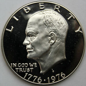 1776-1976-S Type 1 Proof Eisenhower Dollar $1 Bicentennial