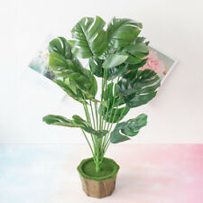 Artificial Plants Turtle Leaf Tropical Large Palm Tree Leaves Imitation Leaf