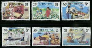 Bermuda  1981   Scott #406-411  Mint Never Hinged Set