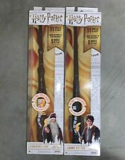 Lot Of 2 Harry Potter & Albus Dumbledore Wizard Training Wand New In Box