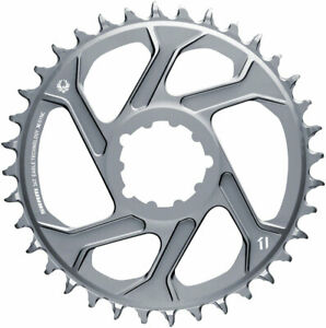SRAM 34T X-Sync 2 Direct Mount Eagle Chainring 3mm Boost Offset Polar Gray