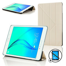 White Origami Smart Cover Sleeve Case Samsung Galaxy Tab A 9.7 Scrn Prot Stylus