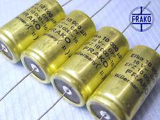 10000uF - 16V  FRAKO EFZ Audio Grade!! Electrolytic caps x 50 pieces
