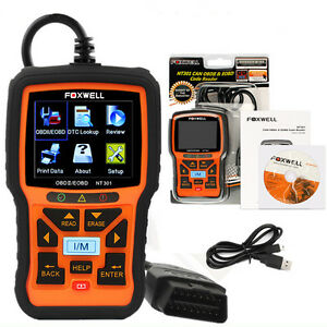 Marvellous NT301 EOBD OBD2 Car Scanner Diagnostic Fault Code Reader Scan Tool