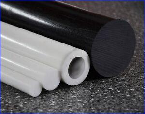 POM Vollstab Schwarz Stab Vollmaterial Kunststoff Rundstangen bis 100cm NEU