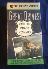 "*New, sealed* ""Great Drives - Pacific Coast Highway"" PBS VHS Big Sur to Wash St."