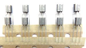 BC556B (Marked JC556B) Philips PNP 65v 500mw 100ma  Transistors x100 Pieces