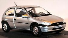 Opel Corsa B 1993-2000 silber silver metallic 1:43 Designer Serie Hideo Kodama