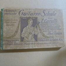 GUITARRE-SCHULE F. Carulli rev. Albert Buechler, Tonger Kaiser Wilhelm II