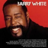 """BARRY WHITE """"ICON"""" CD NEW!"""