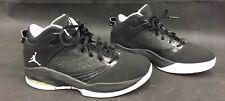 2011 Youth 5.5  Black And White Nike Jordans