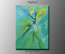 "Original abstract painting, acrylic canvas art modern abstract art ""Rapture"""