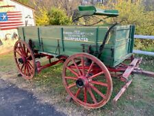 Antique Horse Drawn Wagon Sold By Farmers Union Supply Co. Falmouth, Ky.