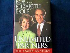 SIGNED- SENATOR BOB & ELIZABETH DOLE - UNLIMITED PARTNERS OUR AMERICAN STORY