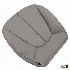 1998 Ford Expedition XLT Sport Driver Bottom Leather Seat Cover GRAY