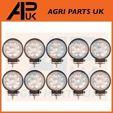 10x 27W LED work Light Lamp 12V Flood Beam 24V Round Trailer Offroad 4X4 SUV 4WD
