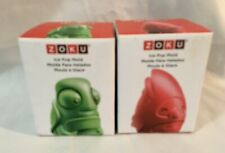 Zoku Ice Pop Mold / Lollipop Mold / Chocolate Mold LOT OF 2