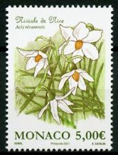 More details for monaco flowers stamps 2021 mnh french snowflake snowflakes plants nature 1v set