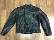 New listing Mens 54 - Vtg W. Krawehl Speed Racing Motorcycle Biker Padded Leather Jacket