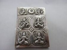 Antique Burmese silver card box early to mid 19th century Crafted, Visitenkarten