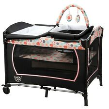 Infant Crib Travel Baby Bassinet Nursery Furniture Newborn Folding Bed Cradle