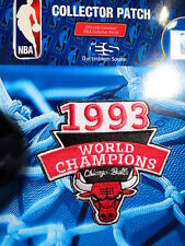 Official Licensed NBA Chicago Bulls 1993 Champions Fan Iron or Sew On Patch