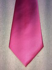 MANZINI COLLECTION MENS TIE 3.5 X 59 SOLID PINK, NWOT