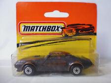 Matchbox Pontiac Firebird 1988 Copper Patina Bulgaria Bulgarian Bulgarien NOS