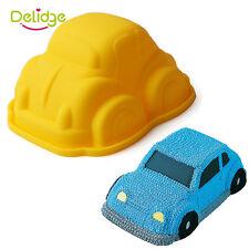 Cartoon 3D Car Silicone Fondant Cake Mold Baking Tools Rice modl Cake Decorating