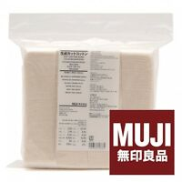 MUJI Authentic Premium Japanese Organic Cotton 100% Unbleached 180pads s8084