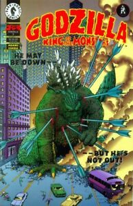 Godzilla King of the Monsters 7 Art Adams Kevin Maguire G-Force Toho NM