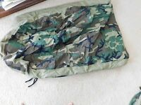 US MILITARY WOODLAND BDU SLEEPING BAG BIVY COVER