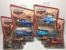 Disney Cars World of Cars Mater, Tongue McQueen, Ghostlight Ramone, Helicopter