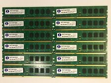 12 x Integral IN3T1GNYNGX PC3-8500U DDR3 Non-ECC Memory RAM 1GB 93-29-59 AN1012