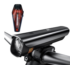 Light Super Bright Cree LED Bike Front Headlight USB Rechargeable Rear Tail Set