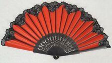 Flamenco Fächer Spitze rot original aus Spanien