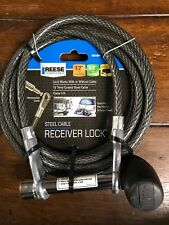 Reese Towpower 7031600 Easy Access Receiver Lock And Cable